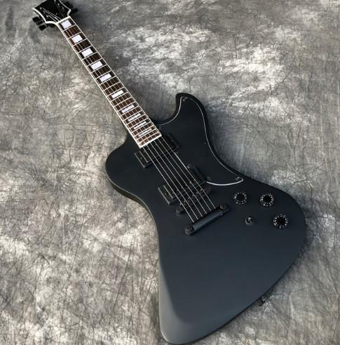 Free Shipping Satin Black RD type Electric Guitar, Custom Shop RD guitar with Black hardware, High quality guitarra, All color are Available