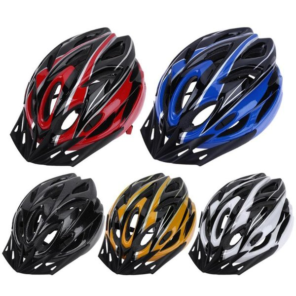 Unisex PC EPS Ultralight 18 Air Vents Bicycle Cycling Helmet Riding Men Women Mountain Road Bike Integrally Molded Cycling Gear