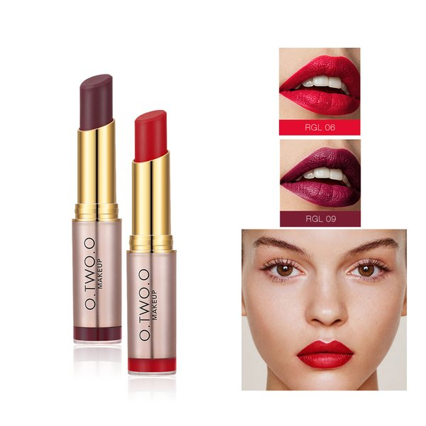 bee133f4e7 New Women Fashion Beauty Makeup Matte Lipstick Lip Gloss Long-lasting  Velvet Lip Moisturizing Lipsticks