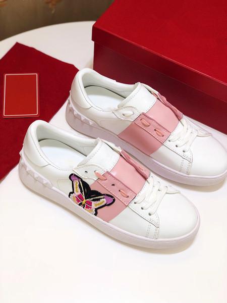 2020 nouvelles chaussures de luxe en cuir hommes arena Livraison gratuite en gros formateurs femmes Chaussures Homme Mode yz19050401
