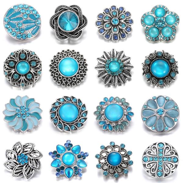 Noosa Chunk 18mm Metal Button Jewelry Bracelet Ginger Snap Button Statement Jewelry Wholesale Snaps Jewelry noosa bracelet