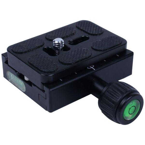 QR-панель быстрого крепления + металлический зажим с переходником от 1/4 дюйма до 3/8 дюйма для Manfrotto Benro B-1 J1 Штатив с шаровой головкой Manfrotto Arca