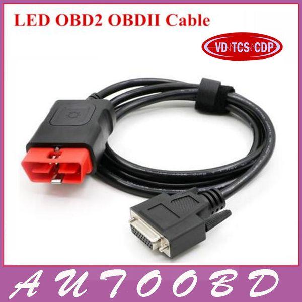 Quality A+ Multi-diag Cables OBD2 Diagnostic OBD OBDII OBD 2 Connect Cable For Multidiag Pro+New Vci VD TCS CDP PRO Plus