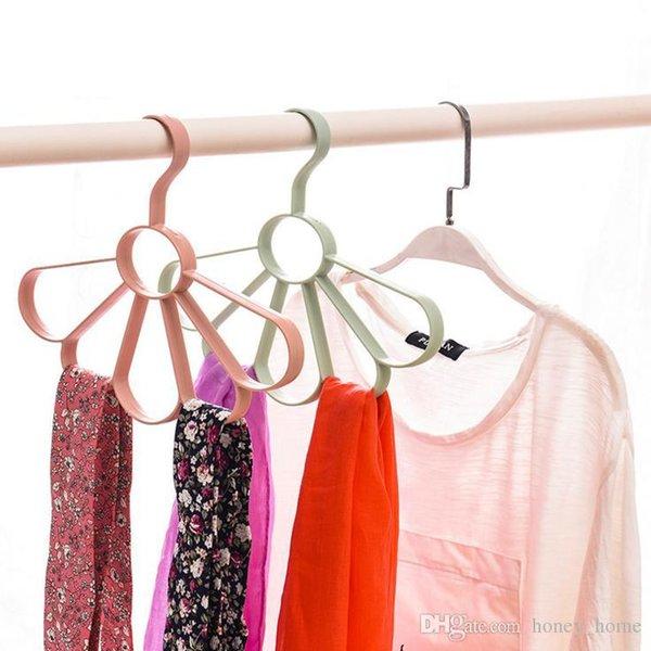 1pcs multi-purpose non-slip plastic hanger hanger for children baby clothes hanger