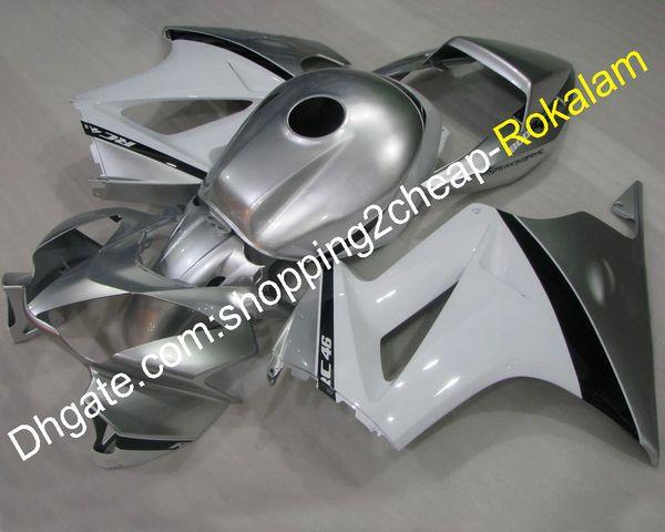 Juego de carenado Para Honda VFR800 Piezas de motocicleta 2002-2012 VFR 800 Carrocería de plástico ABS Juego de carenados (moldeo por inyección)