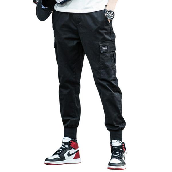 Pantalons Hot Pants Hommes Casual Mens Cargo Mode en vrac Harem avec appliques de haute qualité Pantalon Crayon Taille Plus S-5XL 4 couleurs en gros