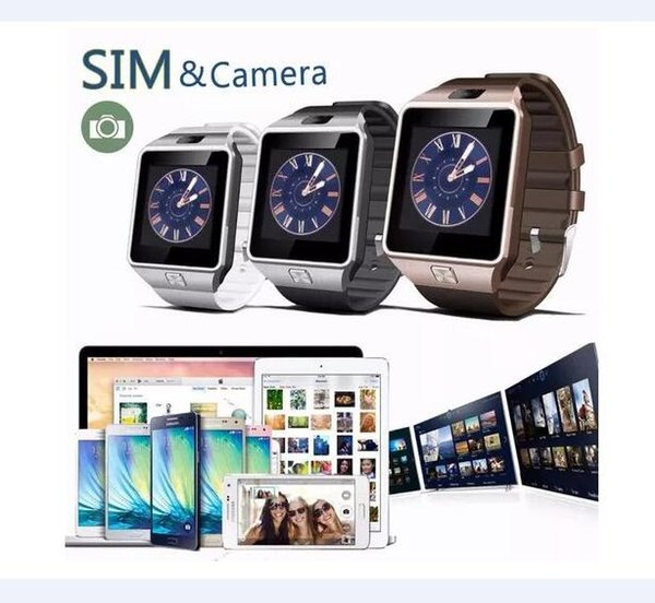 top popular DZ09 smartwatch android GT08 U8 A1 samsung smart watchs SIM Intelligent mobile phone watch can record the sleep state Smart watch 2019
