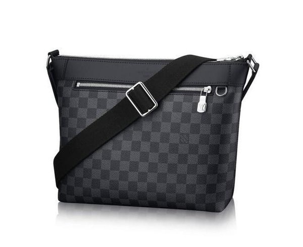 Genuine leather N40003 Men Messenger Bags Shoulder Belt Bag Totes Portfolio Briefcases Duffle Luggage free shipping