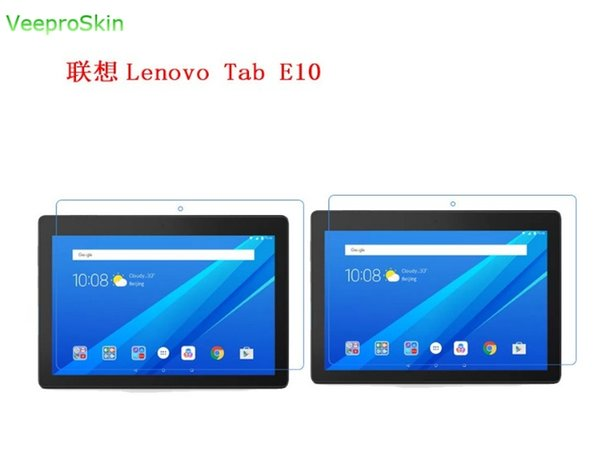 2pcs/lot for Lenovo Tab E10 10.1 10 inch Screen Protector Tablet PC HD Front LCD glossy Screen protective Film