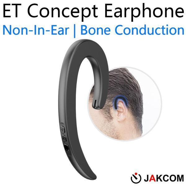 JAKCOM ET Non In Ear Concept Earphone Hot Sale in Other Cell Phone Parts as mask metal stand exoskeleton foam tips