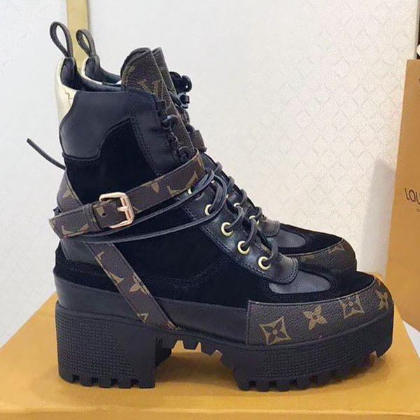 Women Shoes Casual Fashion Ankle Boots Womens Fashion Shoes Western Bottes Femmes Laureate Platform Desert Boot Genuine Leather Women Shoes