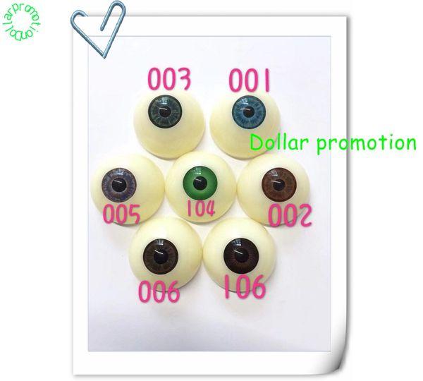 2019 vendre 100 pcs 30 MM Acrylique Ours Artisanat En Plastique Yeux Eyeball Demi-Tour 30MM ROUGE COULEUR Eyeball Zakka Halloween DIY Eyeball