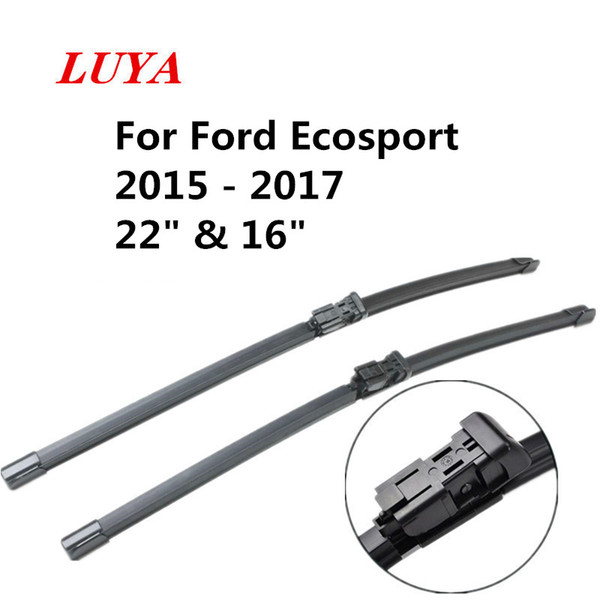"LUYA wiper Blade in Car windshield wiper For Ford Ecosport 2015 - 2017 size:22"" & 16"" car accessories styling"