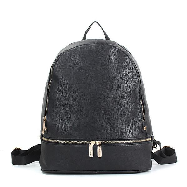 top popular black brand design smaller backpacks school bags for women lady girls designer pu 2020