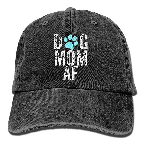 HUAN 2019 New Wholesale Baseball Caps Print Hat High quality for Men and Women Cotton Washed Twill Baseball Cap Dog Mom AF Hat