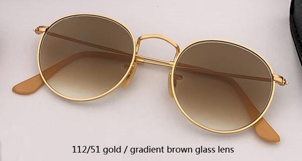 112/51 gold / verlaufsbraunes Glas
