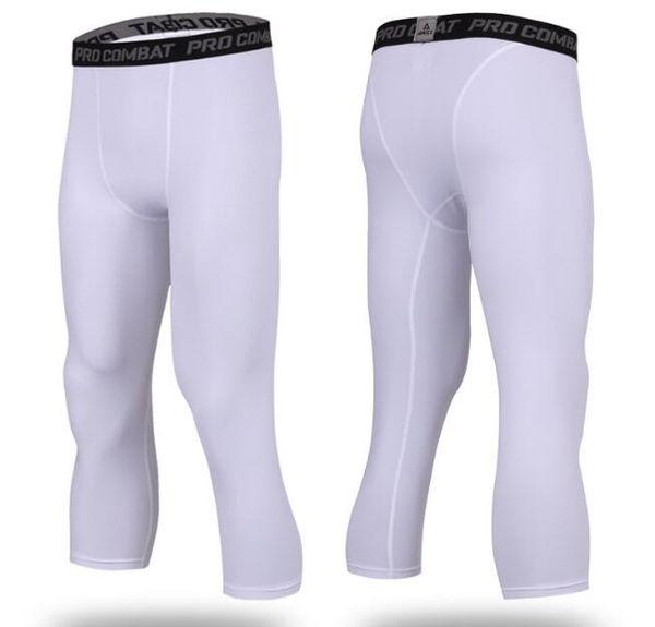 white, Capri pants