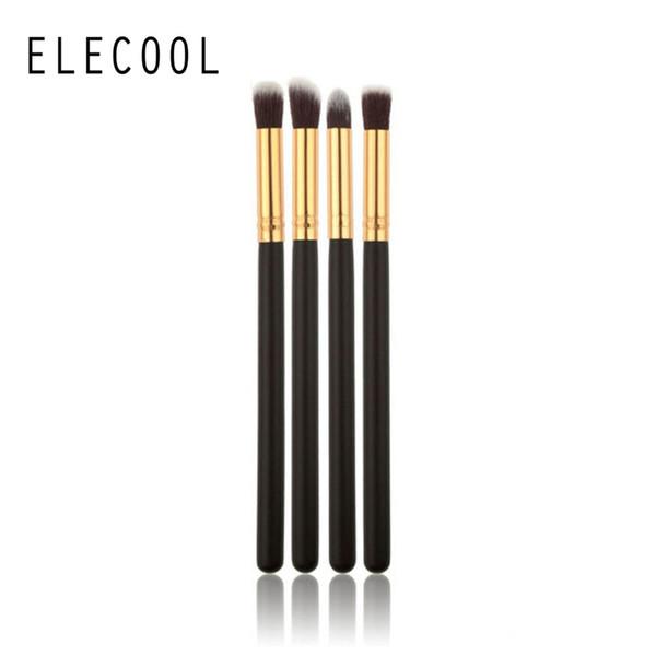ELECOOL 4/1pcs/set Professional Eyeshadow Brushes Blending Eye Shadow Eyelash Pencil Brush Makeup Tool Top Quality for Women C18112601