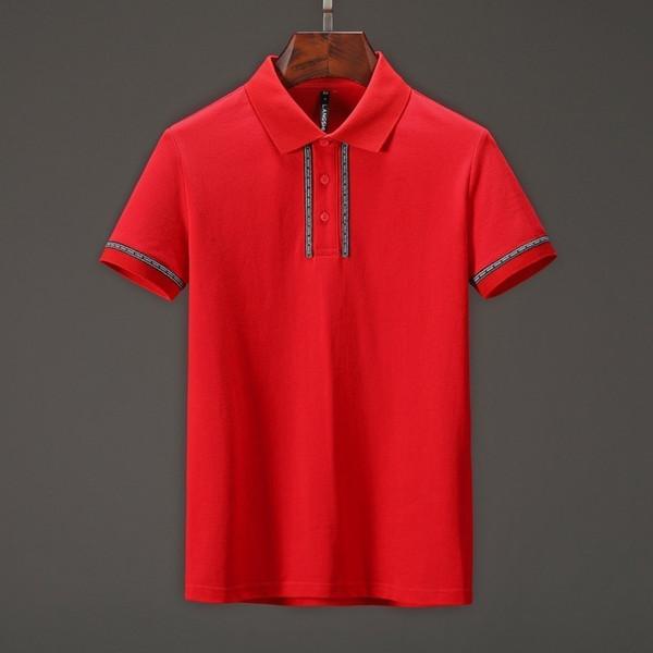 2019 été nouveau modèle homme et femme T-shirt à manches courtes Leisure Time JM031903
