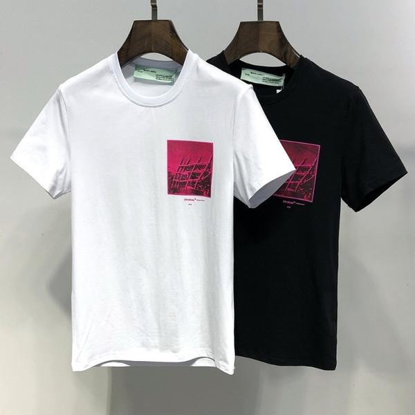 Erkek Yaz Moda Rahat Pamuklu Tişört Gençlik Marka Kısa Kollu Gömlek 6136
