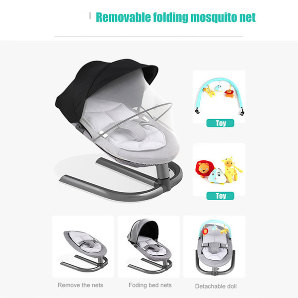 Astounding Baby Rocking Chair Cradle Chair For Newborns Swing Infant Cradle Multifunction Lounge Chair Wooden Rocking Chair Outdoor Rocking Chairs From Onthecornerstone Fun Painted Chair Ideas Images Onthecornerstoneorg