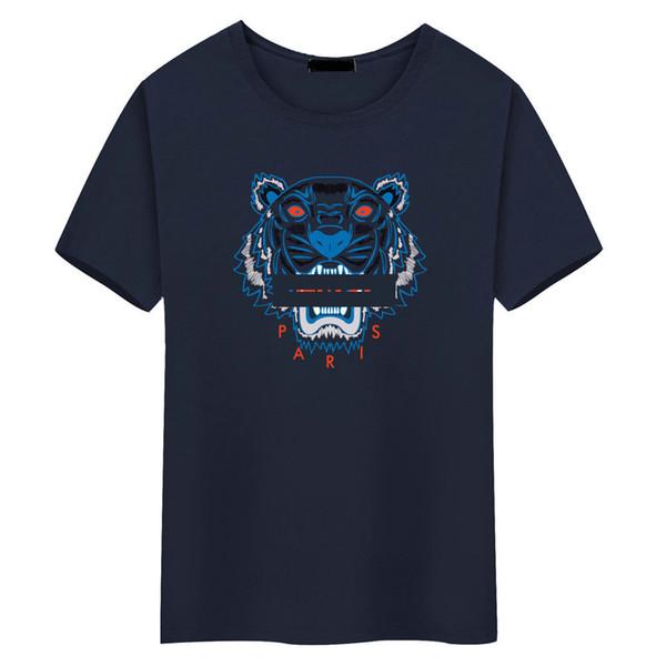 2019 brand fashion luxury tops Paris tiger head t shirts for mens women s tshirt men s clothes clothing gym sweat suits t-shirt
