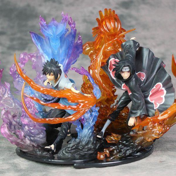 Compre Naruto Uchiha Itachi Susanoo Anime Figuras Figura De Acao