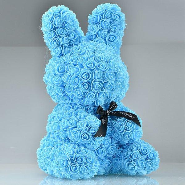 45cm mavi tavşan