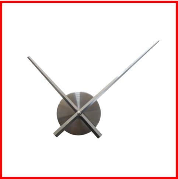 2019 3d wall clock quartz watch needle brief diy clocks living room large stickers decorative horloge murale Metal dial