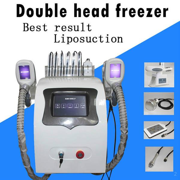 2020 crio sistema de emagrecimento gordura da pele facial máquina congelamento das frequências de rádio tratamento aperto vácuo laser frio congelar máquina longe gordura