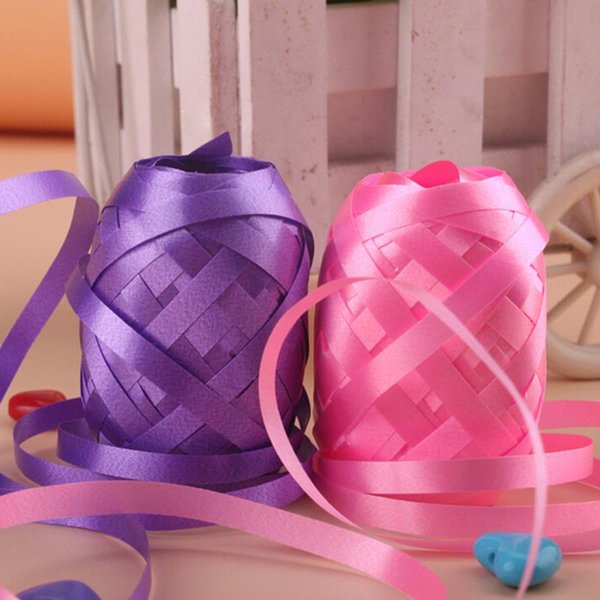 6pcs/lots 5mm * 10m Aluminum foil balloon ribbon square wedding gift wholesale decorative toys