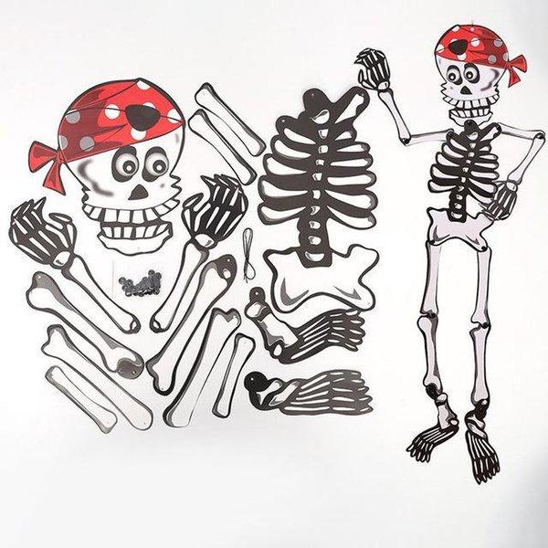 Crânio capa vermelha