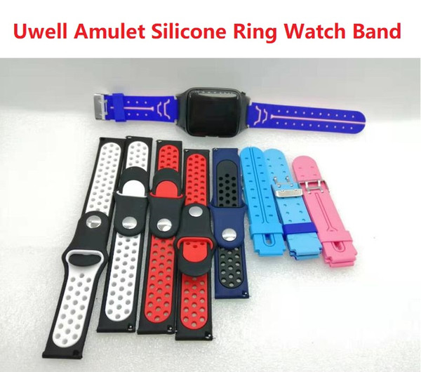 Силиконовое кольцо смотреть группа рукав для Uwell Амулет стручки комплект системы часы стиль Draw-активированный Vape устройство сменные защитные резиновые ремни