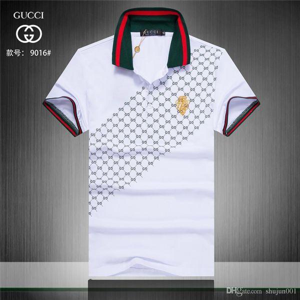 Sommer Herren Polos Herren Casual atmungsaktive Baumwolle Kurzarm Polo Shirts Mode Umlegekragen Polo Herren Bekleidung 4XL