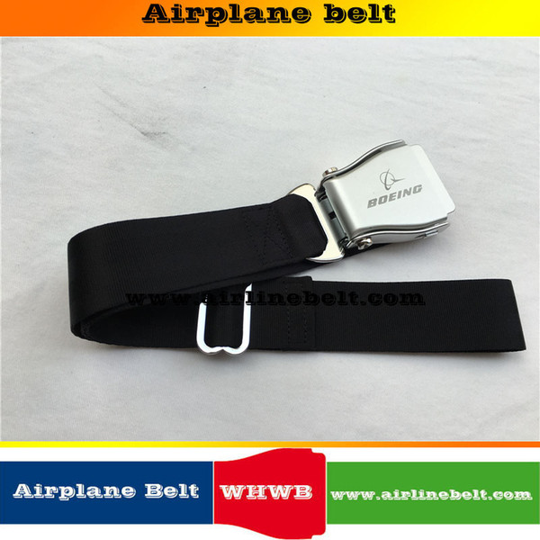 Largeur 38mm WHWB Marque Boeing logo Avion Aircraft mode boucle de ceinture pour pantalon femme