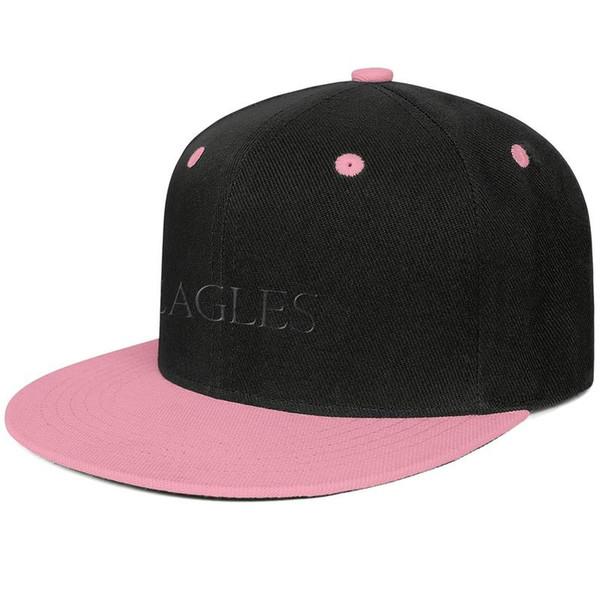 The Eagles band Logos Design Hip-Hop Cap Snapback Flat Brim Dad Hats Custom Adjustable