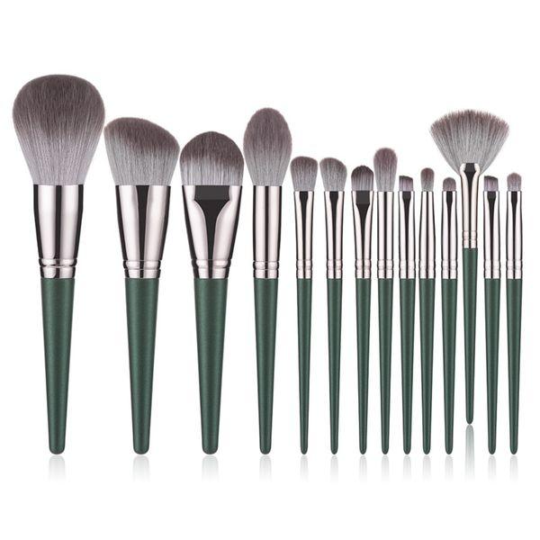 14pcs 녹색