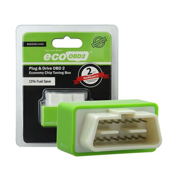 Nitro OBD2 EcoOBD2 Centralina ECU Plug Box Plug per BENZINE Car Driver NitroOBD2 Eco OBD2 Per auto 15% Carburante Risparmia più Potere dropshipping