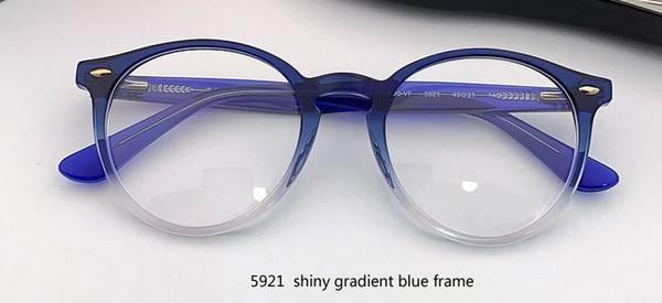 5921 azul brillante / transparente