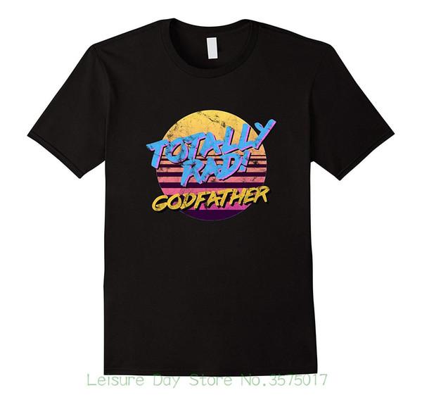 Mierda que imprime la camisa temática de los años 80 del padrino del algodón del O-cuello de manga corta