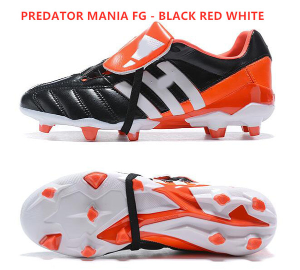 PREDATOR MANIA FG - BLACK RED WHITE