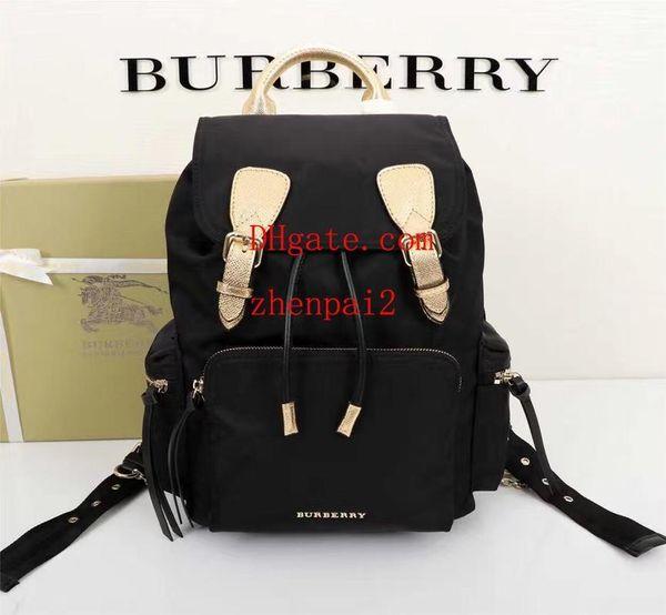 бренд мода сумки черный военный стиль водонепроницаемый рюкзак с металлическими цепями crossbody сумка сумки Сумки кошельки женщина GH-6