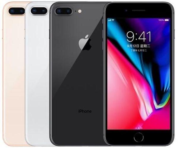 "Original unlocked Apple iPhone 8 Plus Hexa Core iOS 3GB RAM 64GB/256GB ROM 5.5"" 12MP 1080P Wifi Fingerprint 4G LTE refurbished Phone"