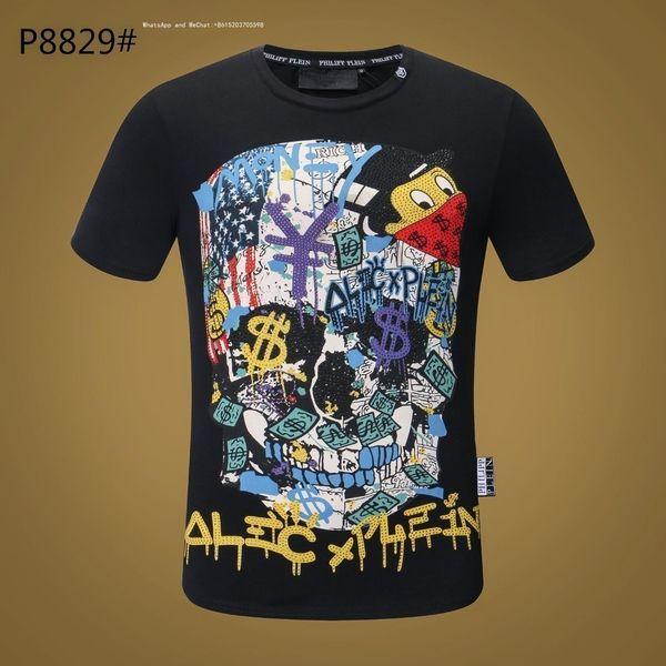 2019 T-shirt da uomo per uomo T-shirt Nuovo prodotto Estate Moda bavero manica corta Abbigliamento sportivo magliette marche 0305