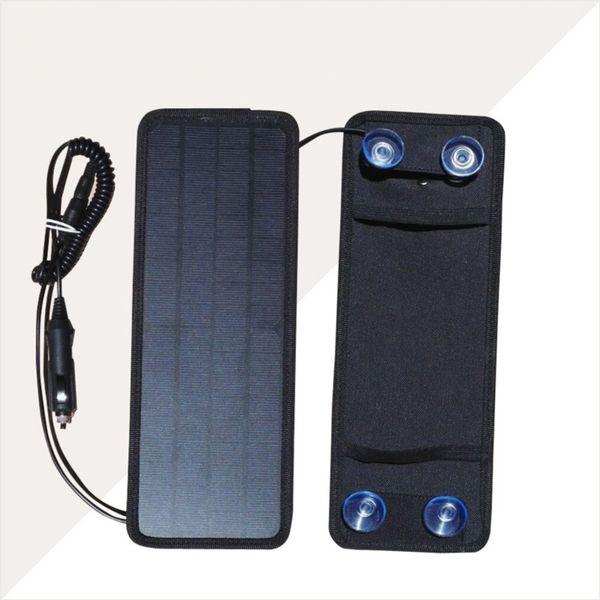 태양 자동차 배터리 충전기를 충전 휴대용 차량용 충전기 RV-배터리 트랙터 솔라 5W 태양 전지 패널 보트 자동차 오토바이 12V