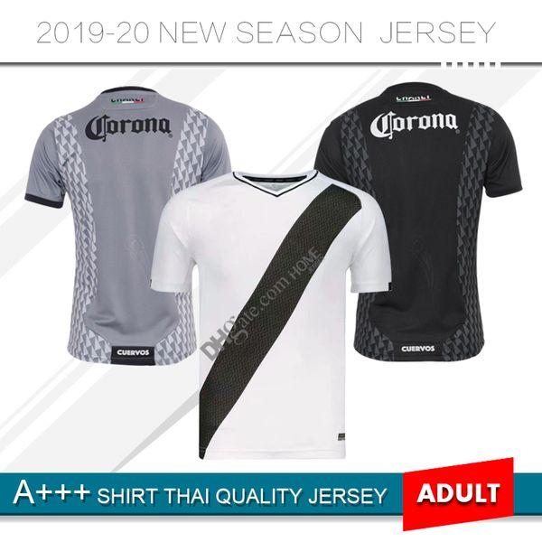 2019 2020 Liga Mx Club de Cuervos Soccer Jerseys Home Away Third 3rd 19 20 Crows Football Shirts Size S-XXL