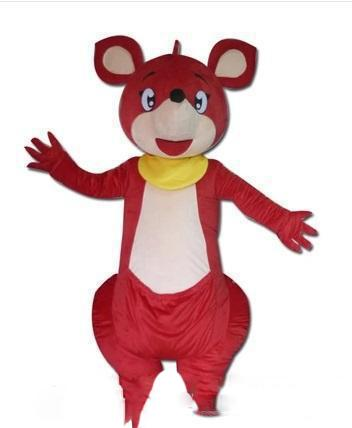 2019 High quality Kangaroo Mascot Costume Adult size Christmas Halloween party carnival Cartoon Costumes Fast free shipping