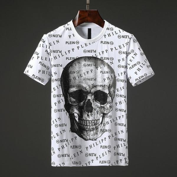 2019 nova moda boutique de alta qualidade dos homens de algodão de manga curta T-shirt M-3XL 20 #