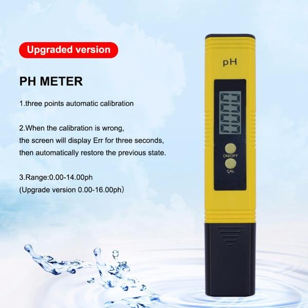 10 pz Ph-02 Più Nuovo Protable Lcd Digital Ph Meter Penna Del Tester Aquarium Pool Acqua Vino Urina Tds Meter T8190619