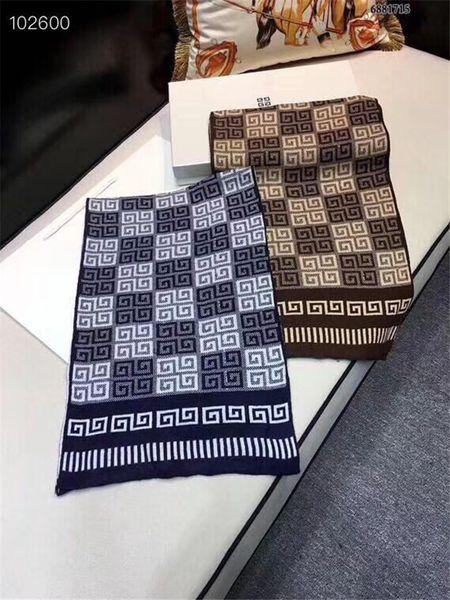 High quality Brand Long Scarf size 180x30cm Women 2019 autumn Scarf Warm 100% cashmere Scarves Plaid knitting Shawls